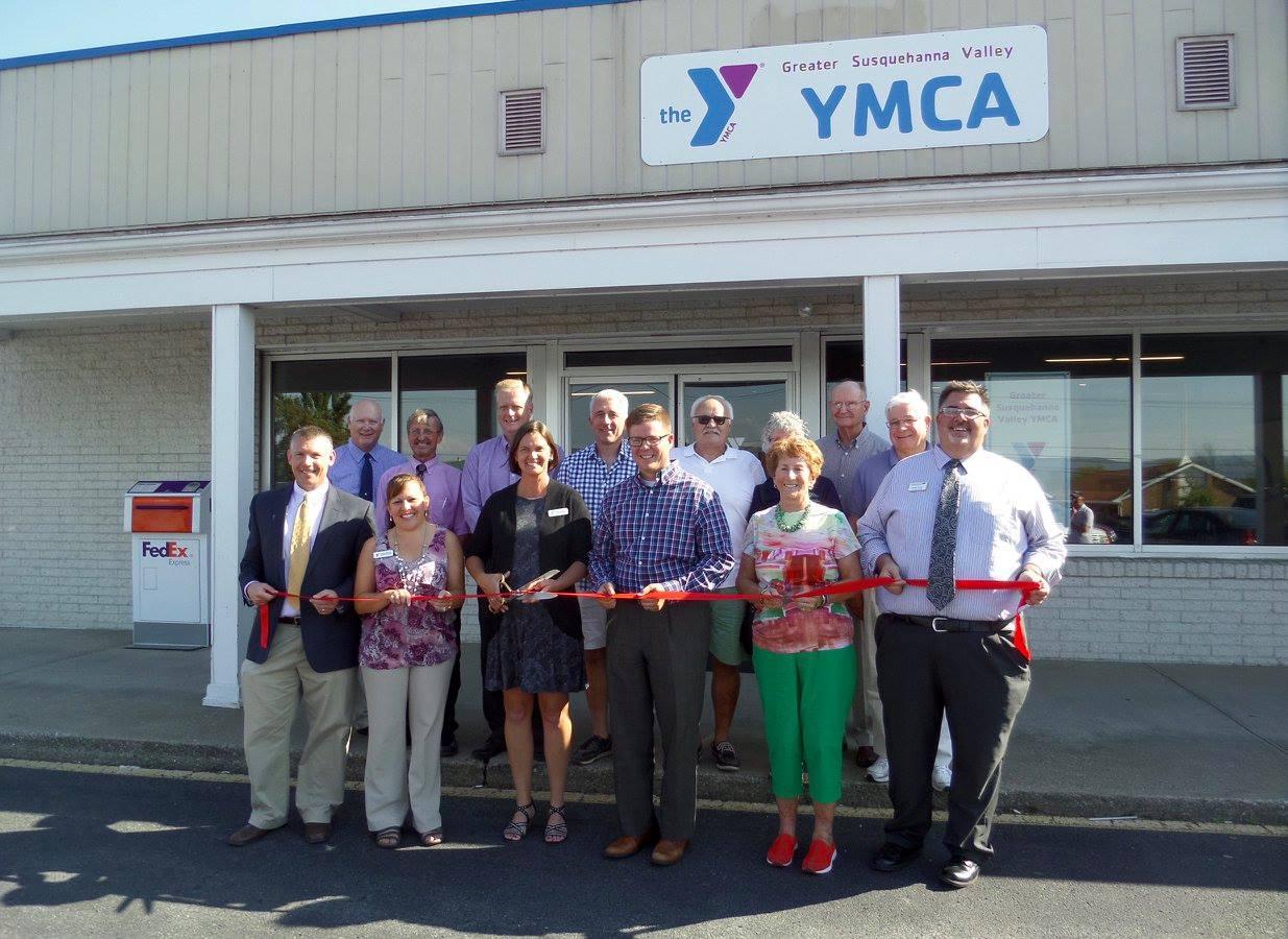 YMCA Ribbon Cutting