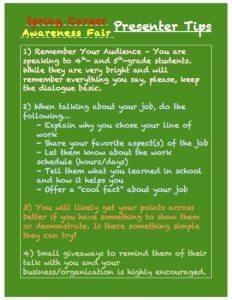 Presenter Tips