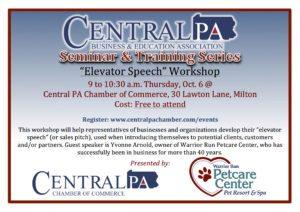 Elevator Speech Workshop