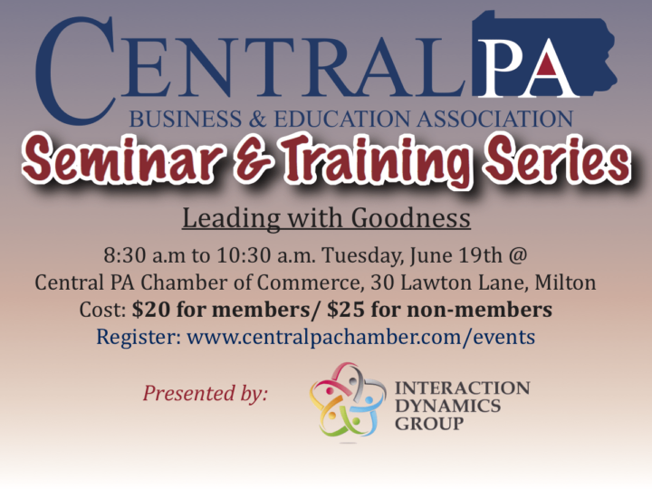 Seminar & Training Series to focus on leadership