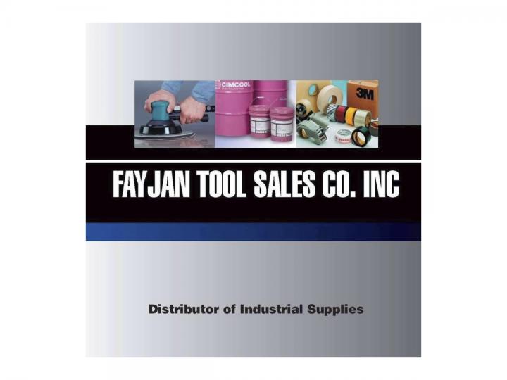 FayJan Tool Sales Co.